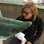 Helena Strandberg Konservator AB ledde arbetet vid restaureringen av Poseidon i Göteborg 2013.